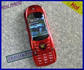 UNLOCKED red SLIDER CAR MOBILE PHONE CAMERA MP4 GSM NETWORK CAR PHONE