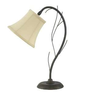 Lighting 1197 Metal Accent Table Lamp, Scavo Rust