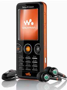 NEW SONY ERICSSON W610 UNLOCKED GSM CELL PHONE BLACK 7311270092866
