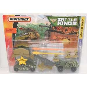 Matchbox Battle Kings   Jungle Defense Toys & Games