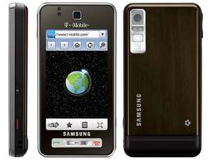 New UNLOCKED Samsung SGH T919 Behold 3g gps Brown T Mobile Cellular