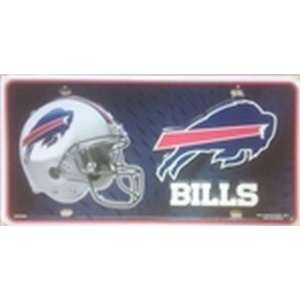 Buffalo Bills NFL Football License Plate Plates Tags Tag auto vehicle