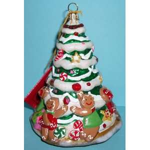 Kurt Adler Polonaise Ornament Gingerbread Cookie Tree