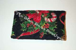 Vera Bradley Retired Rare Christmas Credit Card Case