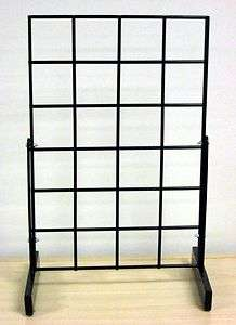 FAST  Freestanding Counter / Table Top Grid Rack Display