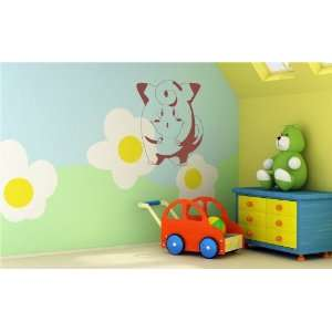 Pokemon Wall MURAL Vinyl Decal Sticker Kids ROOM S. 090