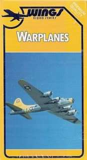 WAR PLANES USMC, Navy, US Air Force Planes VHS 082551020584