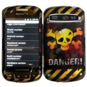 Danger Hard Case Cover for Samsung Admire Vitality Rookie