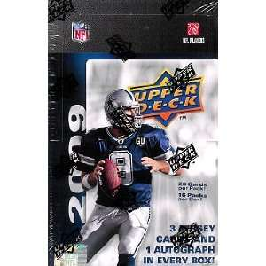 2009 Upper Deck NFL Hobby (16 Packs)