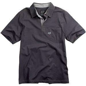 Fox Racing Uniform Polo   X Large/Charcoal Automotive