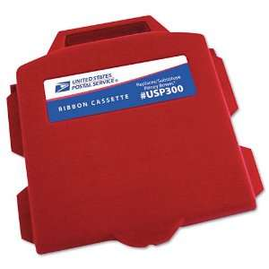 United States Postal Service  USP300 Compatible Ink, Red    Sold as