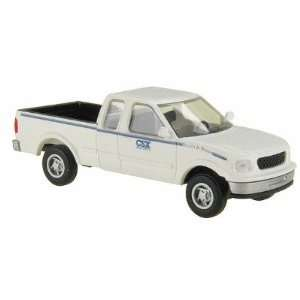of Way Ford F150 Pickup Truck CSX White Atlas Trains Toys & Games