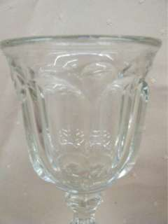 Imperial Old Williamsburg Clear Wine Glass #341 RARE