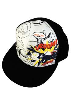 NEW Paul Frank Julius Hero Baseball Caps Mesheadback Black