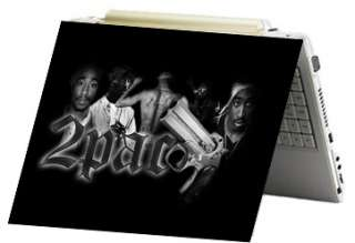 Tupac 2pac Laptop Notebook Sticker Skin Decal Cover