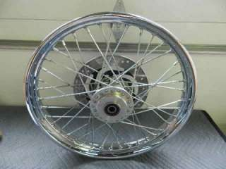 1980 and newer Harley Davidson Softail 21 front wheel w/rotor
