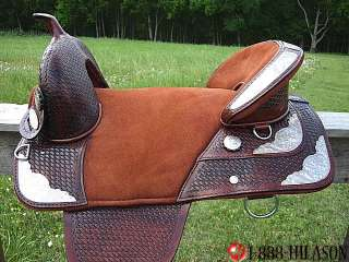 Hilason Treeless Western Barrel Trail Saddle 18 TW166