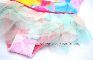 Princess Tutu Swimsuit Swimwear Tankini Swimming Costume 2 6 y