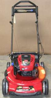 22 INCH TORO RECYCLER GTS SELF PROPELLED PERSONAL PACE MOWER 190CC #23