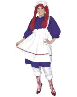 Raggedy Ann Costumes  Raggedy Ann Halloween Costume for Kids & Adults