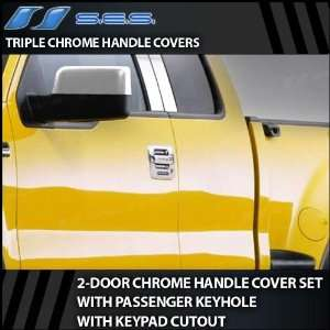 2004 2012 Ford F150 2dr Chrome Door Handle Covers (w/pass