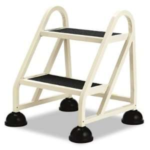 Two Step Stop Step Aluminum Ladder   21 1/4w x 20 1/4d x