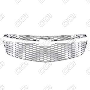 Impact Triple Chrome Plated ABS Grille Overlay 2011 2012 Chevy Cruze