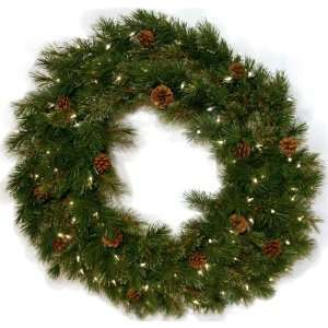 Good Tidings 4750016 Royal Cashmere Artificial Prelit Christmas Wreath
