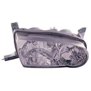 Toyota Corolla Headlight Assembly Passenger Side