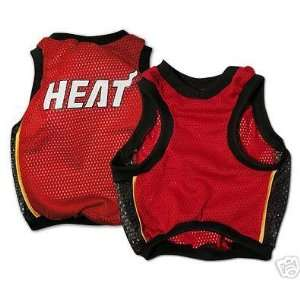 MIAMI HEAT NBA Basketball Sports Jersey Pet Dog XXSMALL
