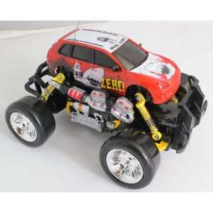Electric RTR Rc Truck, Remote Control Monster Truck with Extra Grip