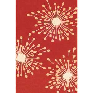 Duracord Sawgrass Mills Sparkler Red Indoor/Outdoor Rug   5 x 8