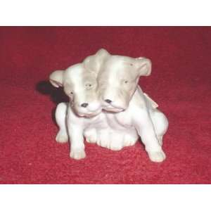 Porcelain Terriers Puppy Dog Figurine
