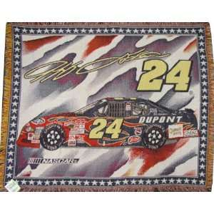 Jeff Gordon Nascar #24 Afghan Throw