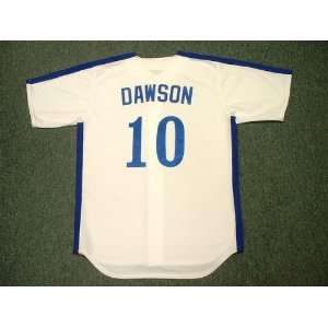 ANDRE DAWSON Montreal Expos 1981 Majestic Cooperstown Throwback Home