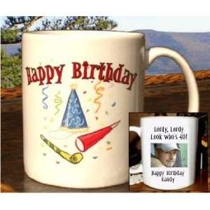 Photo Mugs Personalized Birthday Party Favors Health