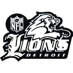 Detroit Lions NFL Wall / Auto Art Vinyl Decal Stickers / 8
