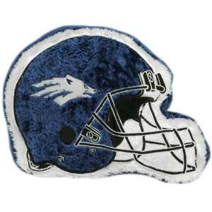 Nevada Wolf Pack 14 Team Logo Helmet Plush Pillow