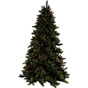 PRE LIT DELUXE LAYERED SPRUCE CHRISTMAS TREE   12 TALL