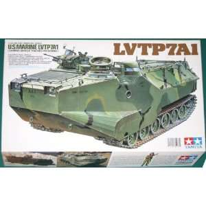 US Marine LVTP7A1 Landing Vehicle Tamiya 1/35 Model Kit Toys & Games
