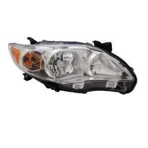 TYC 20 9195 00 Toyota Corolla Right Replacement Head Lamp Automotive