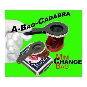 Bag Cadabra Magic trick toy tricks silks card vanish