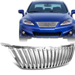 Lexus IS250 / IS350 Front Chrome Vertical Hood / Bumper Grill Grille