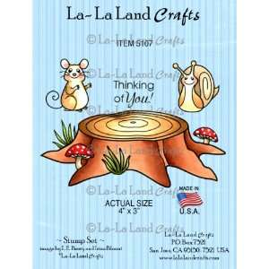 La La Land Crafts Cling Rubber Stamp, Stump Set Arts, Crafts & Sewing