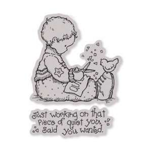 Penny Black Cling Rubber Stamp 4X5 Arts, Crafts & Sewing