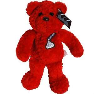Hersheys Red Kiss Teddy Bear   Hersheys Bean Bag Plush