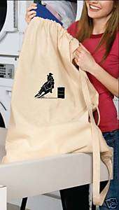 Barrel Racing Racer Laundry Bag horse PERSONALIZED NEW