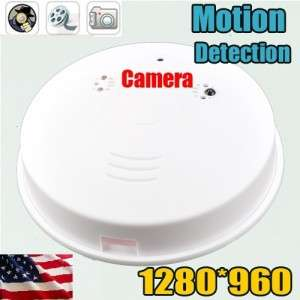 SMOKE DETECTOR Surveillance hidden camera NANNY CAM security