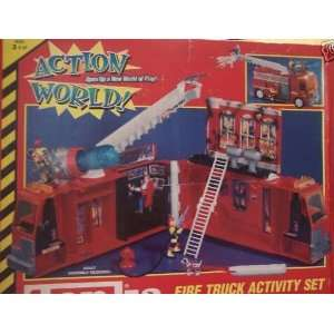 Tonka Action World Fire Truck Activity Set Toys & Games