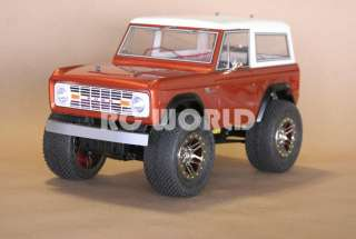 RC 1/10 TAMIYA TRUCK FORD BRONCO RC4WD ROCK CRAWLER RTR *BRAND NEW